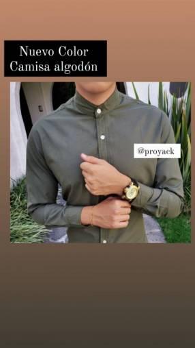12 camisas en algodón premium lujo