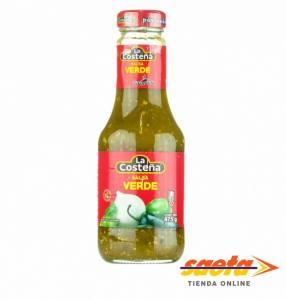 Salsa verde mexicana La Costeña 250 gramos