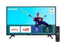 Smart TV LED HD de 32 pulgadas