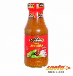 Salsa Arriera La Costeña 250 gramos