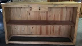 Muebles de madera para mostrador o barra de tragos