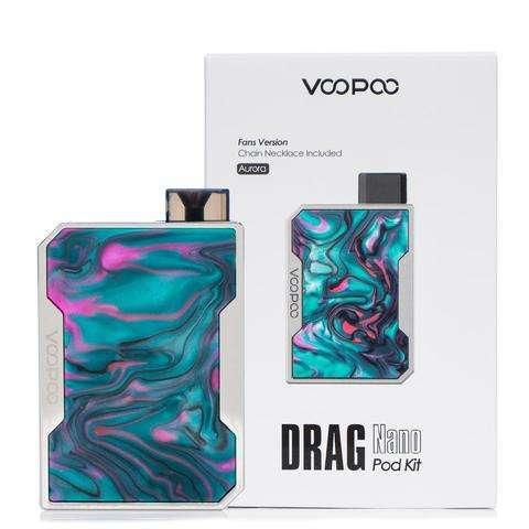 Vaporizador Voopoo Drag Nano Pod Kit Aurora - 0