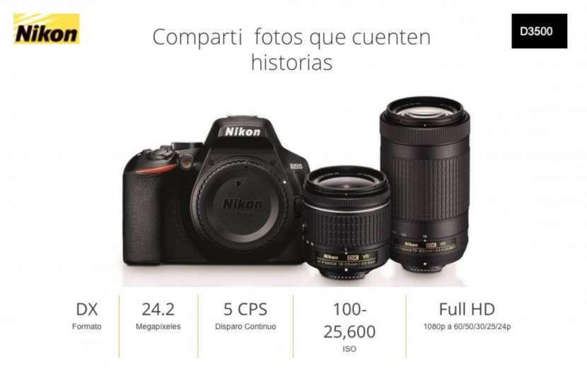 Cámara Nikon D3500 Kit 18-55mm - 0