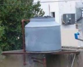 Instalación de tanque de agua