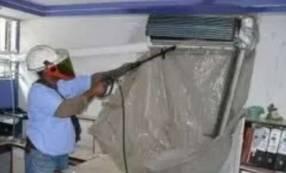 Limpieza de aire acondicionado split