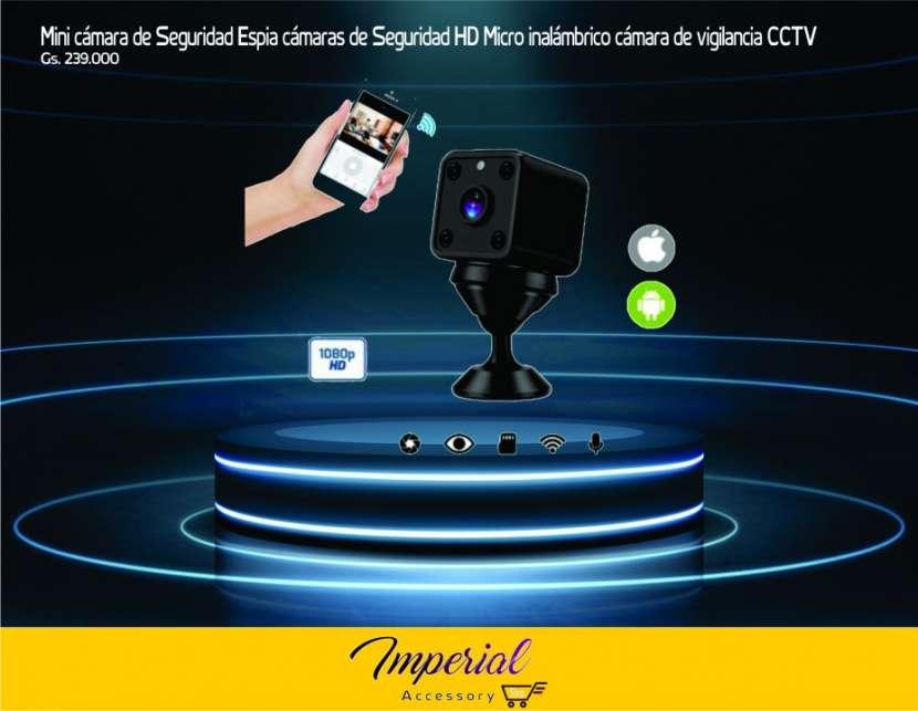 Mini cámara de Seguridad Espia cámaras de Seguridad HD Micro - 0