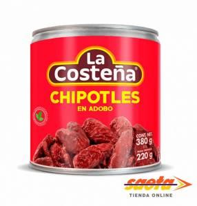 La Costeña Chiles Chipotles Adobados 220 gramos