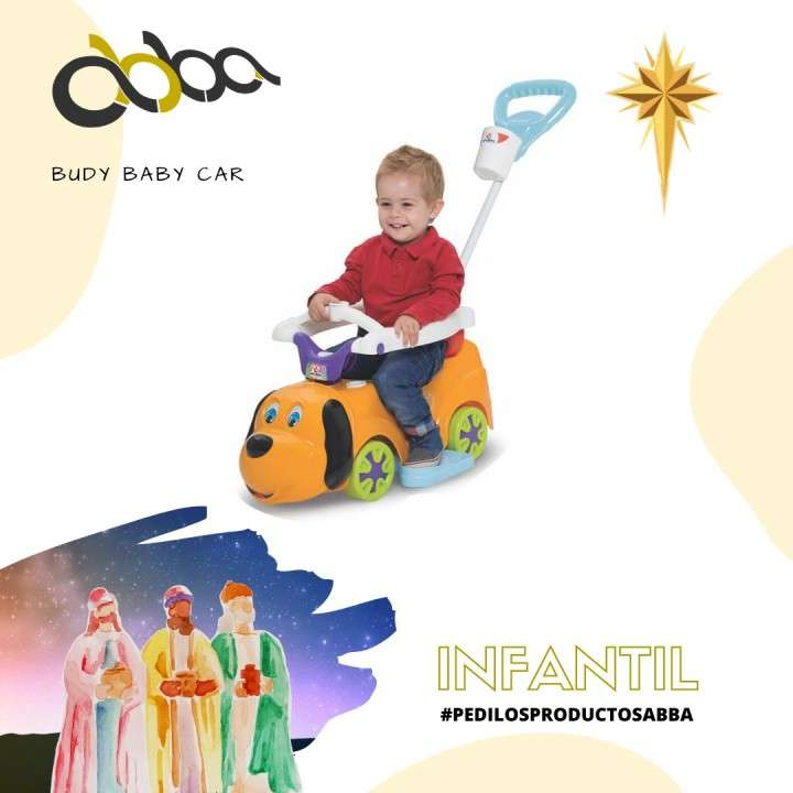 Auto paseo budy baby car 909 MCT Abba - 0