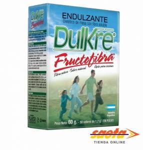 Edulcorante Dulkre Fructofibra 50 sobres de 1.2 gramos