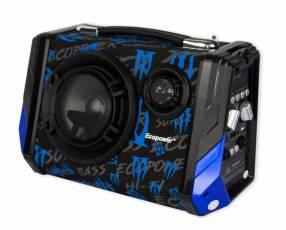 Speaker Ecopower Modelo EP-2268 Color negro, azul y verde