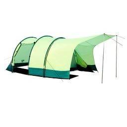 Camping triple ambiente c/ garage (4 pers).