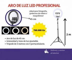 Aro de luz led profesional