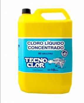 Cloro líquido10 litros