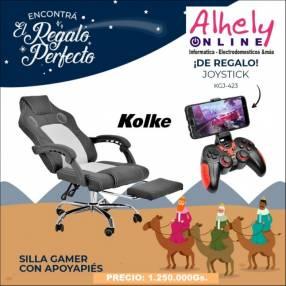 Silla Gamer Kolke + Joystick de regalo