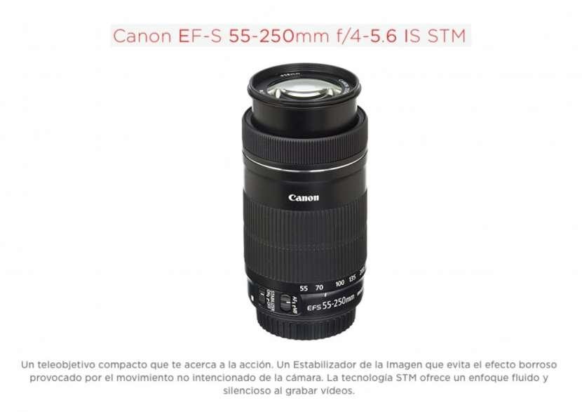 Lente Canon EF-S 55-250mm F/4-5.6 IS STM - 0