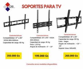 Soportes de tv hasta 80 pulgadas