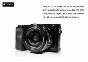 Cámara Sony A6000 Kit 16-50mm