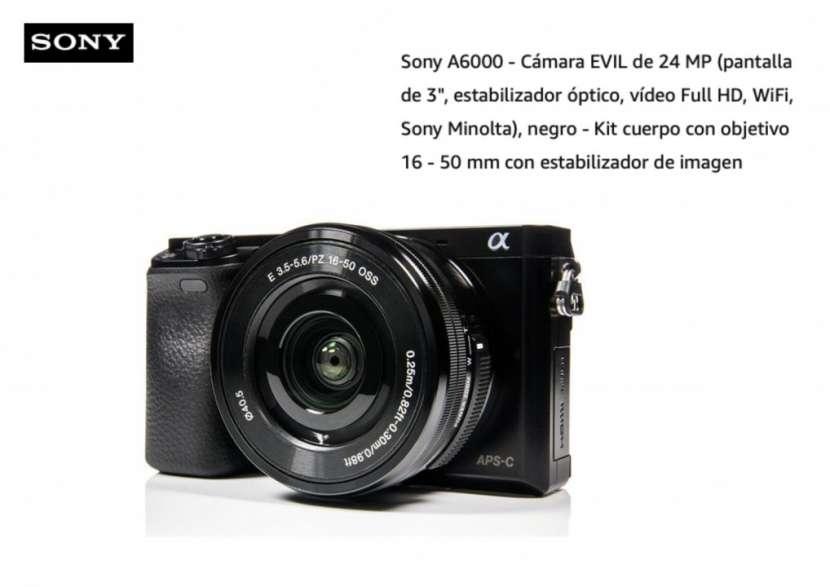 Cámara Sony A6000 Kit 16-50mm - 0