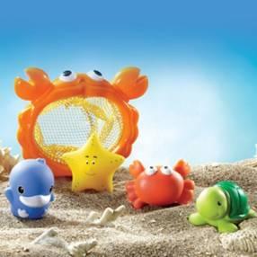 Kit de juguete para agua animales marinos