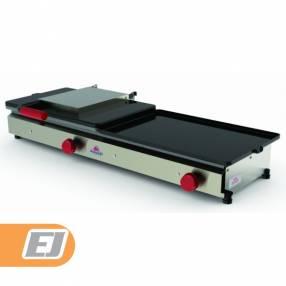 Hamburguesera Progas doble 1 prensa a Gas modelo PR-950GN
