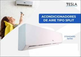 AIRE ACONDICIONADO 18.000 BTU TESLA BLANCO