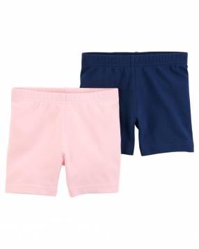 Pack 2 Shorts Pink Blue Carter's