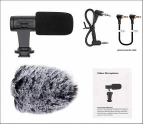 Micrófono para cámara y celular