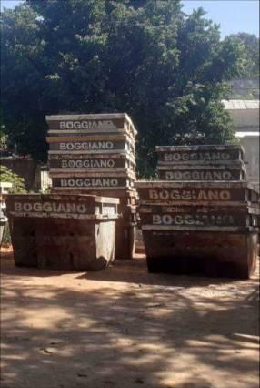 Alquiler de contenedores para escombro y basuras