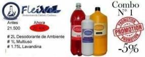 Kit productos de limpieza del hogar ️️