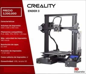 Creality Ender impresora 3D