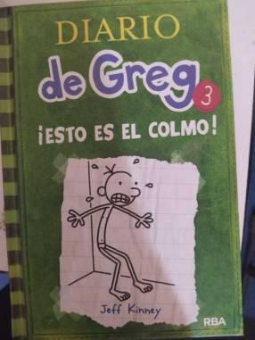Libros infantiles diario de Greg 3 y 4