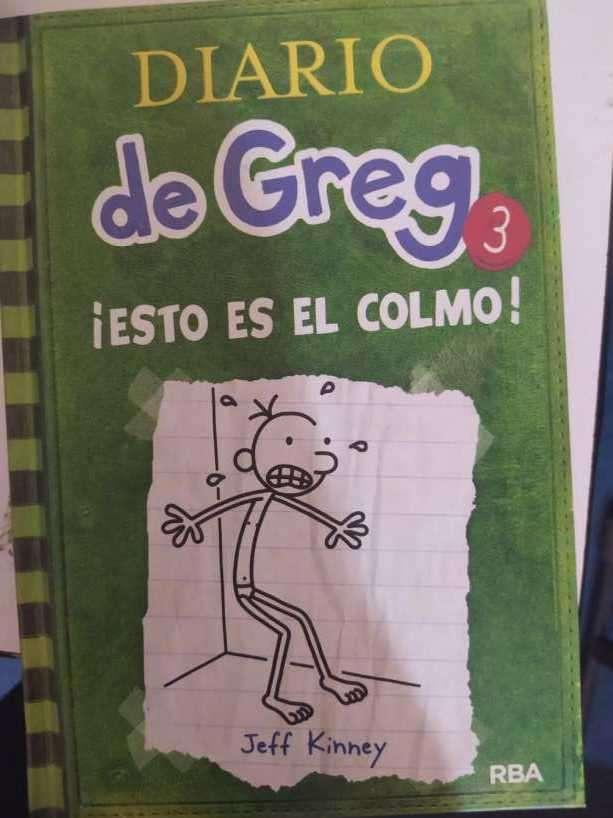 Libros infantiles diario de Greg 3 y 4 - 0