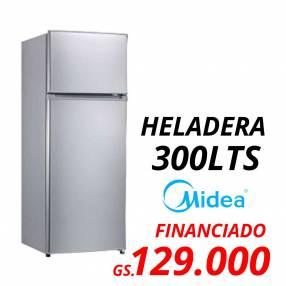 Heladera Midea 300L