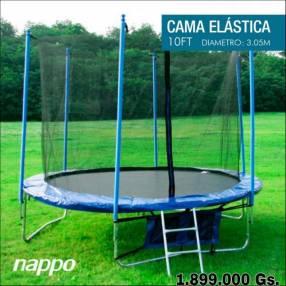 Cama elástica Nappo con red 3.05 mts