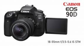 Cámara Canon EOS 90D Kit 18-55mm