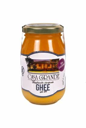 Mantequilla Clarificada Ghee sin Sal Casa Grande -