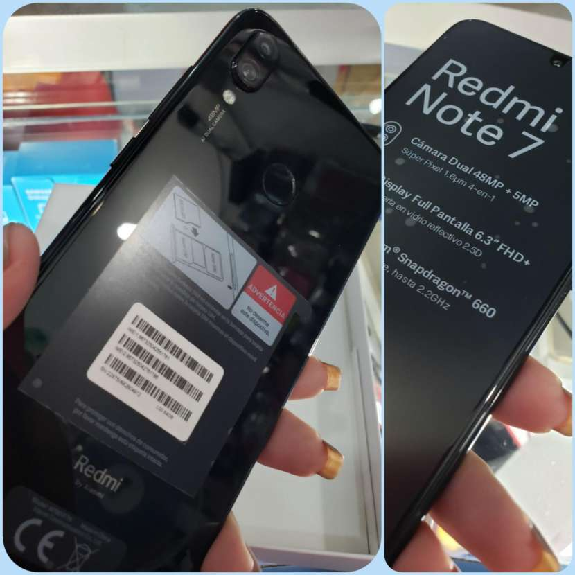 Xiaomi Redmi Note 7 de 128 gb - 0