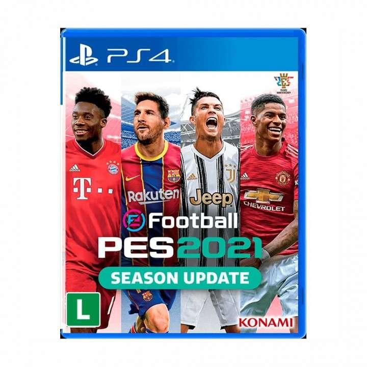 PES 2021 Pro Evolution para PS4 - 0