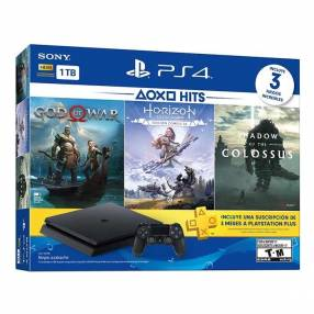PlayStation 4 Slim 2215B + 3 Juegos