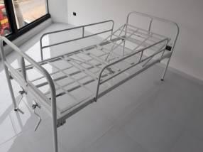 Cama de 2 movimientos manual con colchón de base