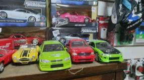Autos de rápido y furioso
