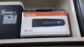 Micrófono Tascam TM180