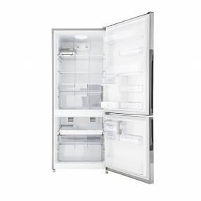 Heladera mabe mb47 f/s 520l bottom freezer black