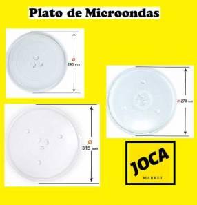Plato para microondas diversos tamaños