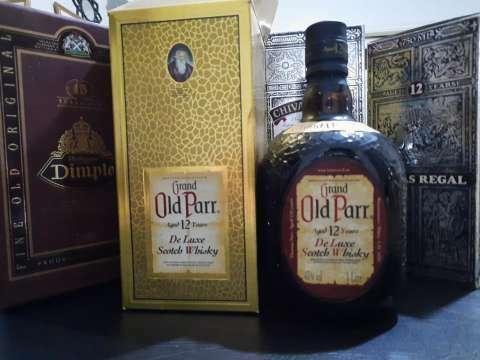 Whisky Gran Old Parr añejado años 70 - 0