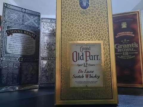 Whisky Gran Old Parr añejado años 70 - 1