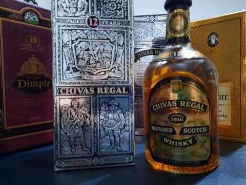 Whisky Chivas Regal Blended Scotch 12 años añejado años 70 - 0