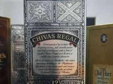 Whisky Chivas Regal Blended Scotch 12 años añejado años 70 - 2