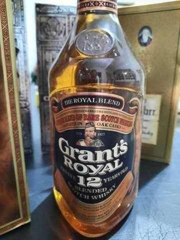 Whisky Grant's Royal 12 años Blended Scotch añejado de los años 70 - 0