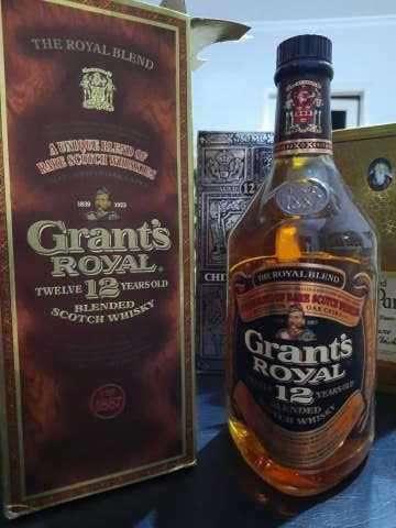 Whisky Grant's Royal 12 años Blended Scotch añejado de los años 70 - 1